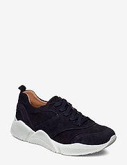Billi Bi - Sport 8840 - chunky sneakers - navy suede 511 - 0