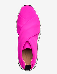Billi Bi - Sport 8842 - slip-on sneakers - neon pink lycra 999 - 3