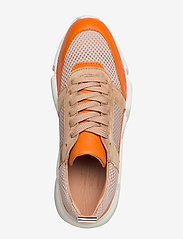 Billi Bi - SHOES 8853 - chunky sneakers - orange/beige comb. - 3