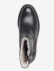 Billi Bi - Boots 913102 - flat ankle boots - black calf 80 - 3