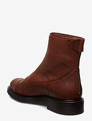 Billi Bi - Warm lining 97427 - flate ankelstøvletter - cognac 6013 buffalo 856 - 2
