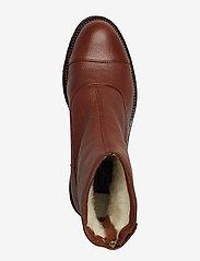 Billi Bi - Warm lining 97427 - flate ankelstøvletter - cognac 6013 buffalo 856 - 3