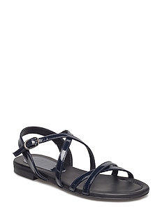 SANDALS - NAVY PATENT 211