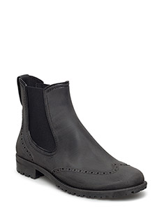 RAIN BOOTS - BLACK BRUSHED 30