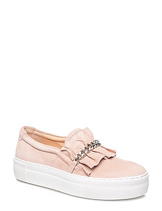 SHOES - NUDE SUEDE 588