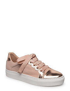 SHOES - ROSE METAL/NUDE SUEDE 358