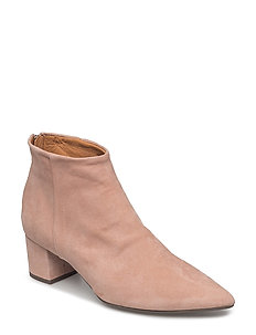 BOOTS - OLD ROSE SUEDE/SILVER  589