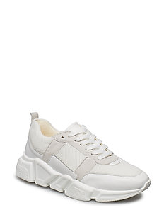 SHOES 8853 - chunky sneakers - white comb. 793