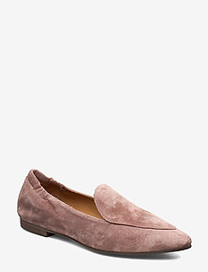 Shoes 11512 - loafers - rose camezia suede 598