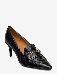 Pumps 13327 - klassiske pumps - black monterrey/gold 202