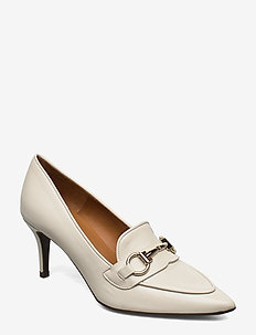 Pumps 13327 - klassiske pumps - off white 735 nappa/gold 732