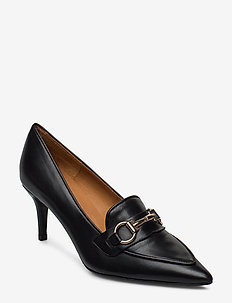 Pumps 13327 - klassiske pumps - black nappa/gold 702