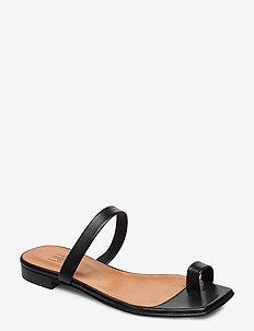 Sandals 14100 - flade sandaler - black nappa 70
