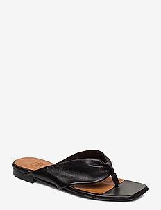 Sandals 14101 - flache sandalen - black nappa 70