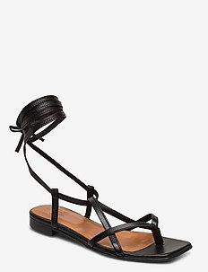 Sandals 14102 - flade sandaler - black nappa 70