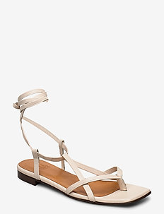 Sandals 14102 - flat sandals - off white nappa 73