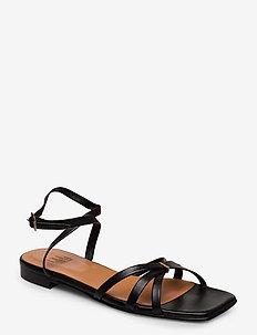 Sandals 14103 - flache sandalen - black nappa 70