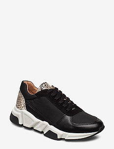 Sport 14261 - chunky sneakers - black/snake comb. 730