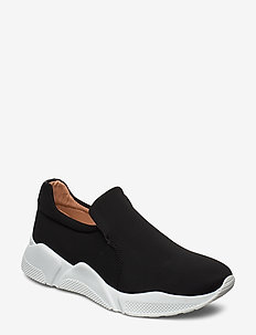 Sport 14281 - slip on sneakers - black lycra 10