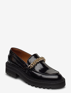 Shoes 14710 - loafers - black polido/gold  900