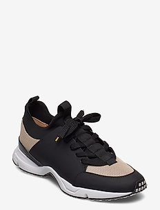 Sport 14871 - sneakers med lav ankel - black rubber/gold 420