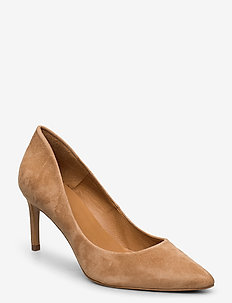 Pumps 16111 - klassiske pumps - cuoio suede 55