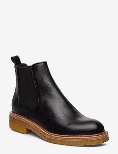 Boots 17440 - bottes chelsea - black texas 80