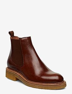 Boots 17440 - bottes chelsea - cognac texas 86