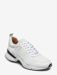 SHOES - sneakers med lav ankel - white comb. 521