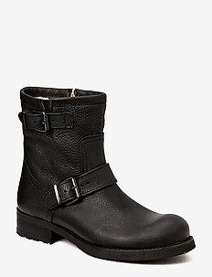 BOOTS - WARM LINING - flate ankelstøvletter - black tomcat 80