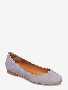 SHOES - ballerinas - lavender marsiglia suede 581