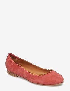 SHOES - DARK PINK 1807 SUEDE 598