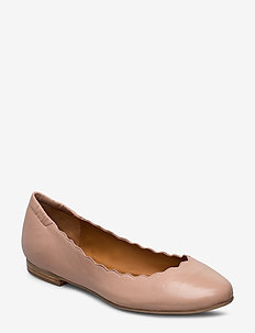 SHOES - ballerinaer - rose 3624 nappa 78