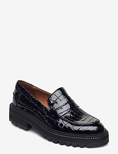 Shoes 24710 - loafers - black croco patent 230
