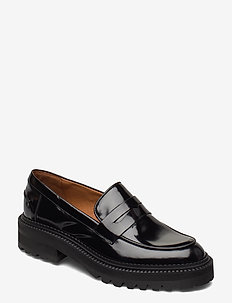 Shoes - loafers - black polido  900
