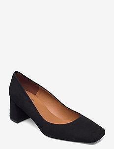 Shoes 2516 - klassische pumps - black suede 50