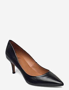 Shoes 2533 - klassiske pumps - black suede 50