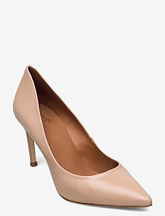 Shoes 2533 - klassiske pumps - beige nappa 72