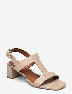 Sandals 2607 - sling backs - beige shell calf 88