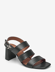 Sandals 2619 - sandalen mit absatz - black calf 80
