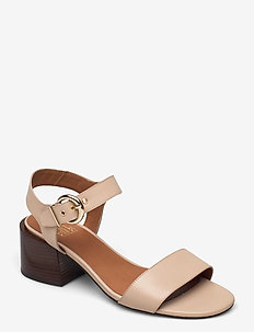 Sandals 2620 - högklackade sandaler - beige shell calf 88