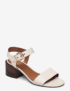 Sandals 2620 - sandalen mit absatz - latte calf 83