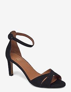 Sandals 2630 - bröllopsskor - black suede 50