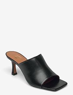 Sandals 2636 - højhælede sandaler - black nappa 70