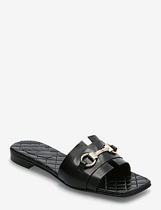 Sandals 2702 - flade sandaler - black calf 80