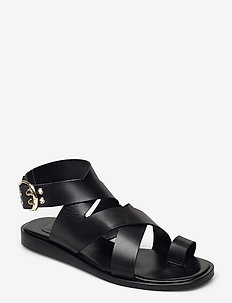 Sandals 2724 - flade sandaler - black calf 80