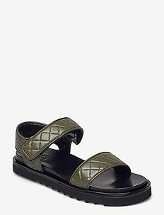 Sandals 2756 - flade sandaler - kaki nappa 77
