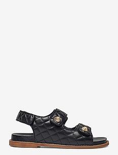 Sandals 2757 - flade sandaler - black nappa 70
