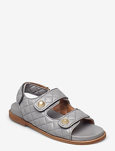Sandals 2757 - flade sandaler - grey 2319 nappa 74