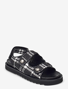 Sandals 2758 - flade sandaler - black/white tweet 700